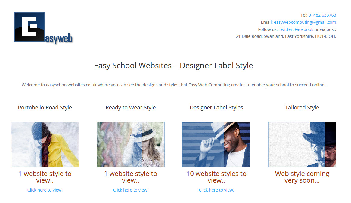 Easy School Websites