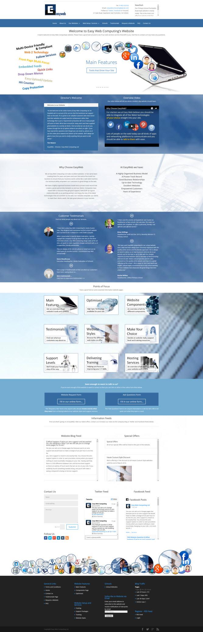 easyweb webiste